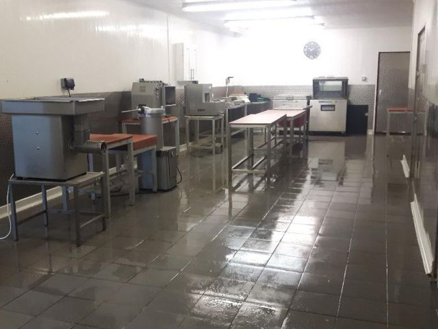 Our catering butcher workshop