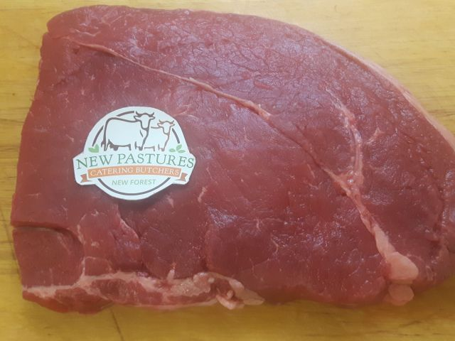 Rump steaks cut by our catering butchers for a public house in Salisbury, Wiltshire