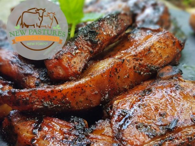 One of our many popular BBq products from our butchery in the New Forest.