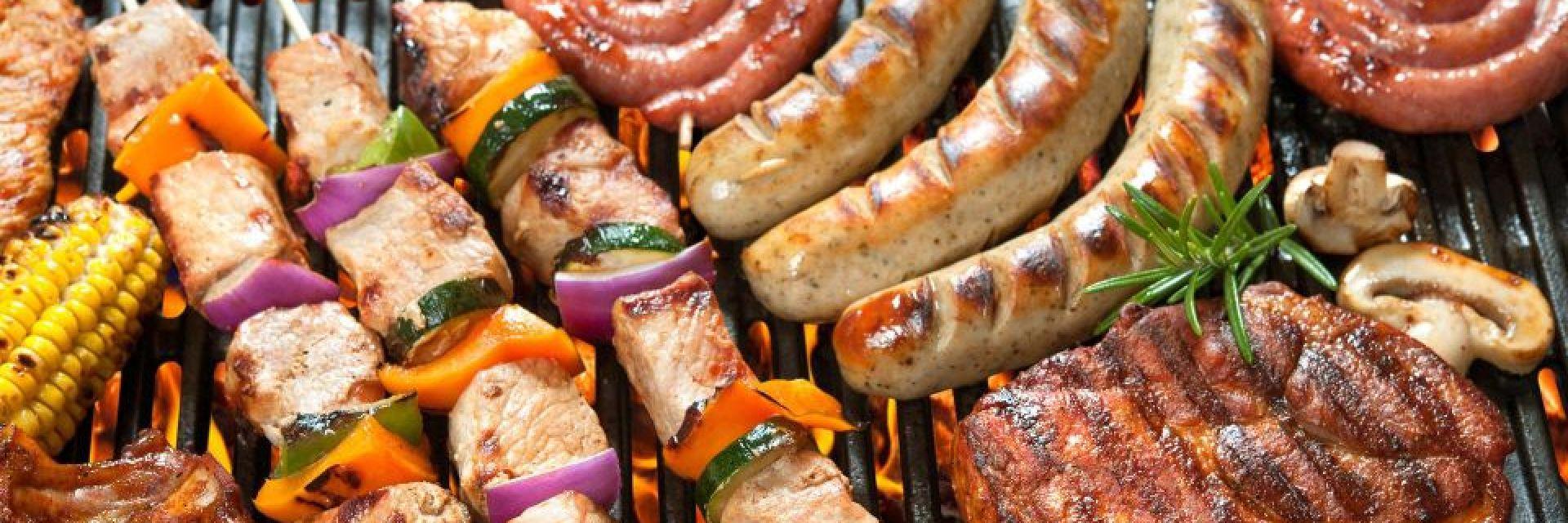 Our butchers have displayed fine selection of our BBQ meats ready for home delivery or delivery to campsites from our butchery in the New Forest